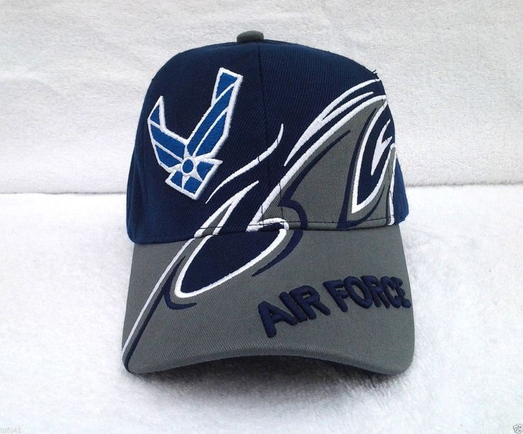 UNITED STATES AIR FORCE WING FIN Military Veteran Hat 381 KAF MT #BaseballCap
