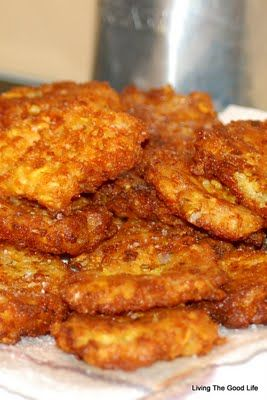 Fried Squash Patties...sounds good. I've made this using potatoes-will try this soon.