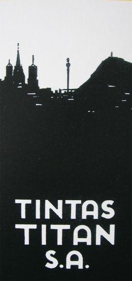 UN POCO DE HISTORIA A finales de los años veinte se abrió una nueva línea de producto TITAN, la de las tintas para artes gráficas _ litografía, offset y huecograbado _ que, indirectamente, tendrían una importancia capital para el futuro de la empresa. Estas tintas abastecían tanto a las grandes editoriales de la época como a pequeños impresores y litógrafos.   http://www.titanlux.es/