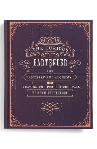 'The Curious Bartender' Book from Nordstrom, Great gift idea for your favorite mixologist!