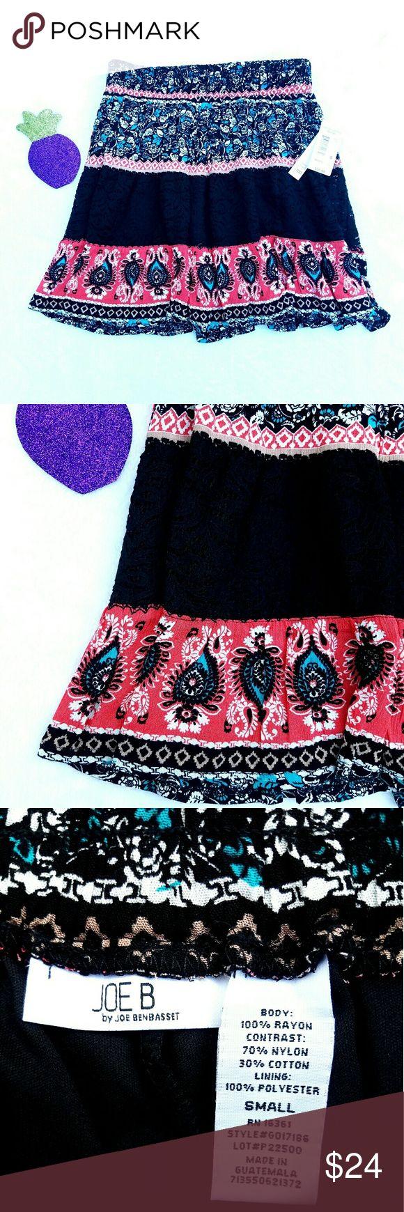 🍍 NWT Joe Biden Small Boho Festival Skirt NWT Joe Biden Small Boho Festival Skirt   🍍25% OFF on bundles   Inventory #67 joe B Skirts Mini