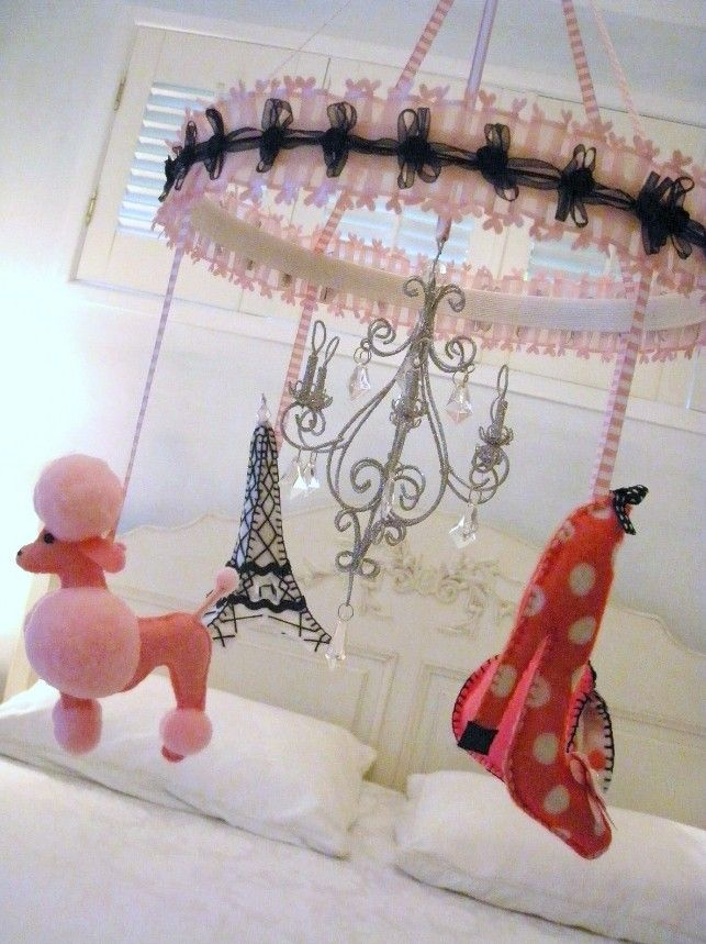 Nursery Mobile - French Theme