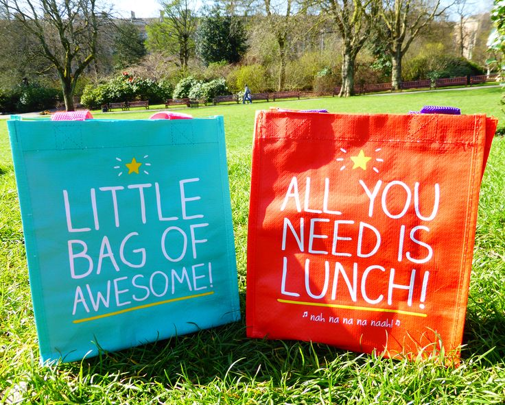 Awesome lunch bags!