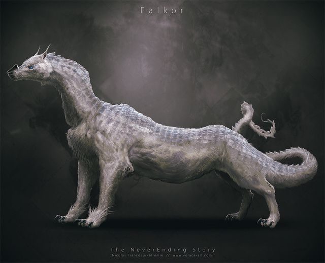 The Neverending Story characters reimagined as if it had been made in 2014, not 1984