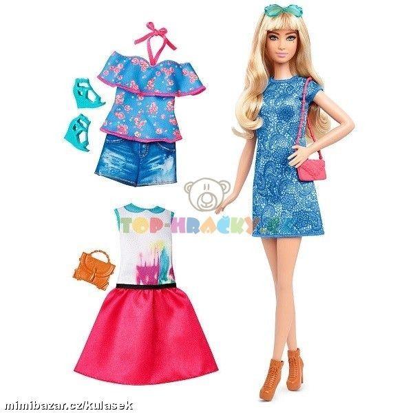 BRB Barbie fashionistas modelka 43 s oblečky 489,-