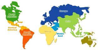 Výsledek obrázku pro mapa světa