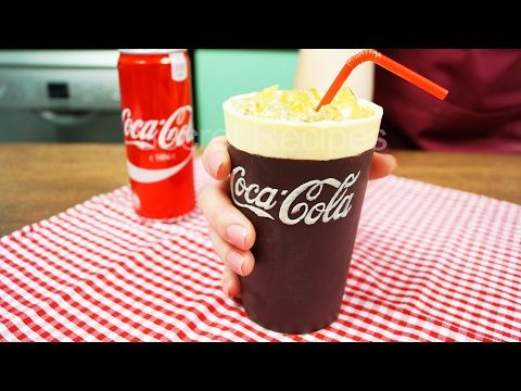 ТОРТ COCA-COLA. КАК СДЕЛАТЬ ШОКОЛАДНЫЙ СТАКАН КОКА-КОЛА | CAKE COCA-COLA - YouTube