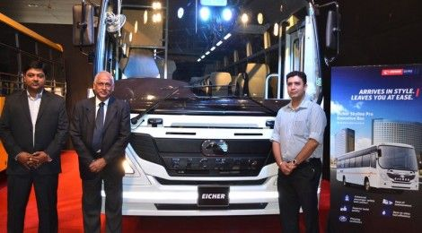 Eicher Skyline Pro Series light duty buses launched in Pune