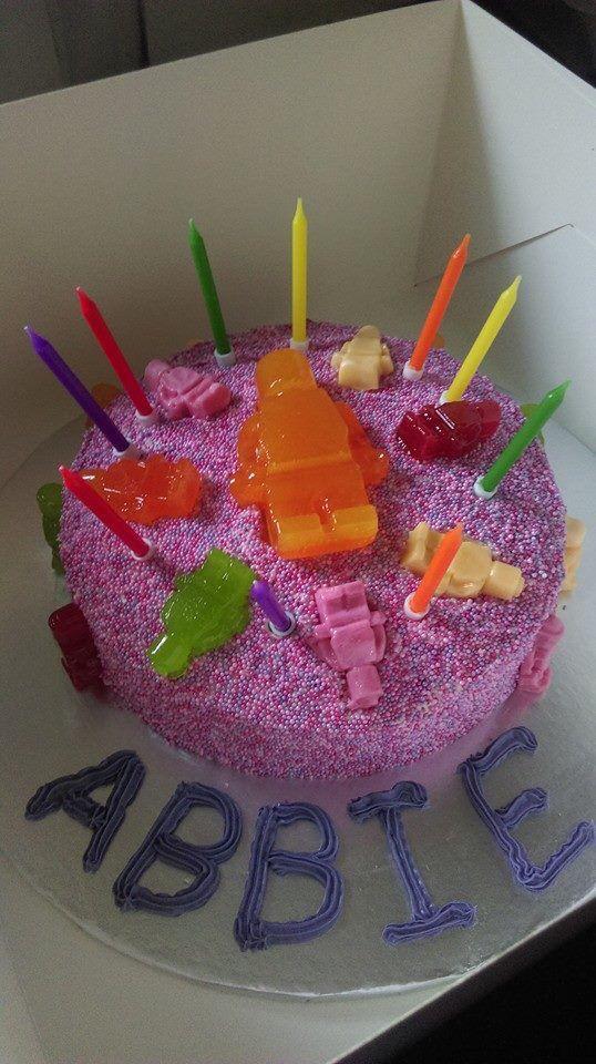 Abbie's 10th birthday cake