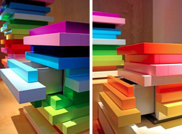 rainbow mille feuille bank emmanuelle moureaux. Black Bedroom Furniture Sets. Home Design Ideas