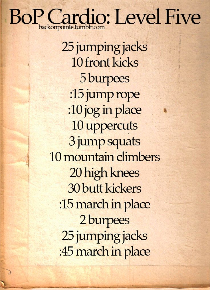 Back On Pointe » annie12358: made timers for each workout :) ...