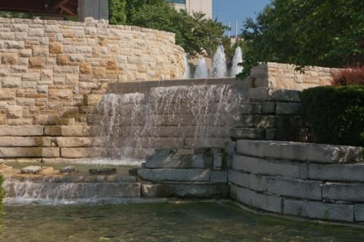 """""""Stowers Gift of Life Fountain"""" Location: 1000 East 50th, Kansas City, MO Owner: Stowers Foundation Dates: 2000 Photo Credit: Judith Burngen"""
