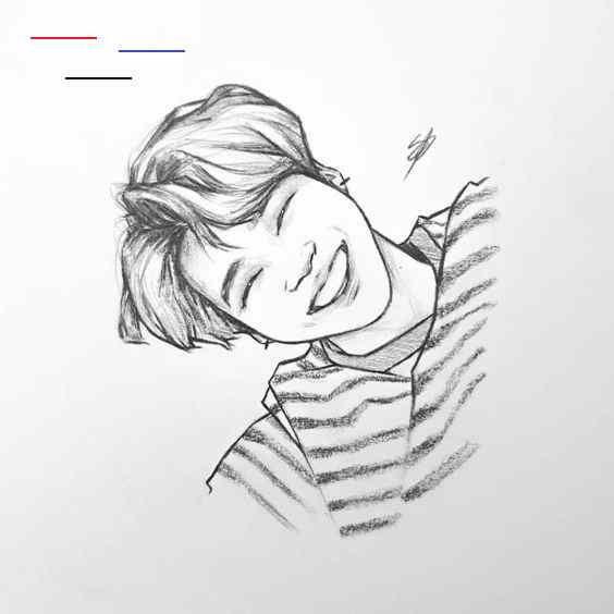 Bts Tutorial Draw Fanart Drawing Fanart Drawing Kpop Kpop Fanart Bts Drawing Kpop Fanart Bts Jungkook Kpop Fanar Kpop Drawings Jimin Fanart Fan Art Drawing