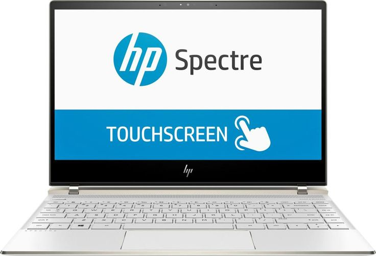 "HP - 13.3"" Touch-Screen Laptop - Intel Core i7 - 8GB Memory - 256GB Solid State Drive - HP soft matte finish in ceramic white"