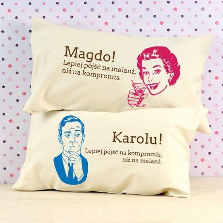Komplet poduszek personalizowanych MELANŻ