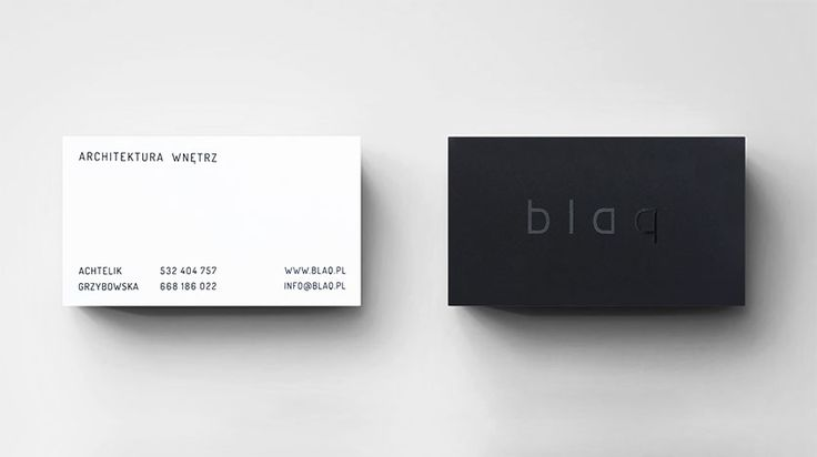 CARD I blaq architects