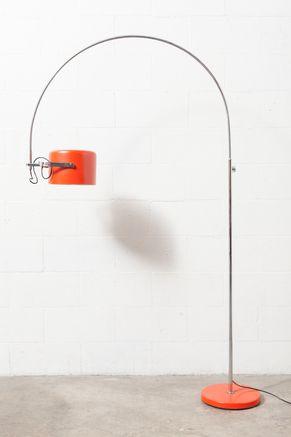 Joe Colombo Style Arc Lamp