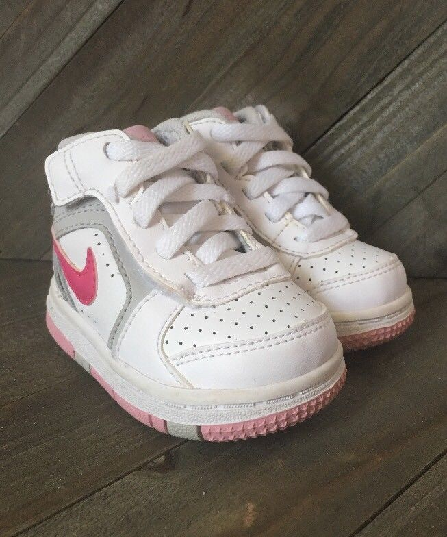 Baby Girls Nike Shoes Sneakers White