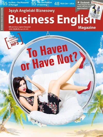 Business English Magazine - magazyn dla wszystkich, którym potrzebny jest język angielski biznesowy