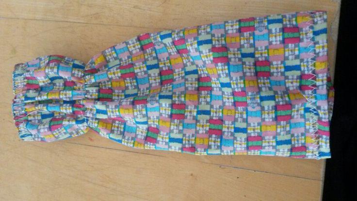 Nähen-resteverwertung- einfache barbiekleider