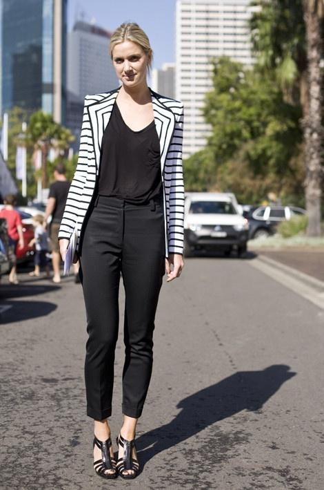 Classy Australian street style...