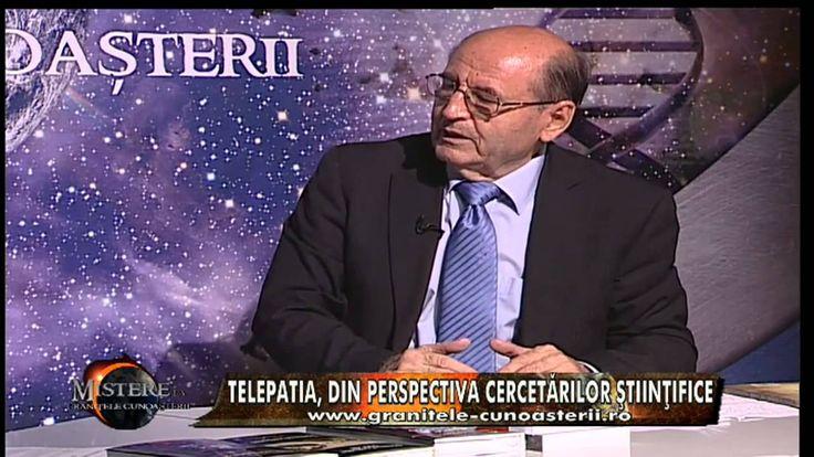 "EU , TELEPATA !  TELEPATIA -  ""Bio-comunicarea & telepatia"" - cu prof. dr. Constantin Dulcan"