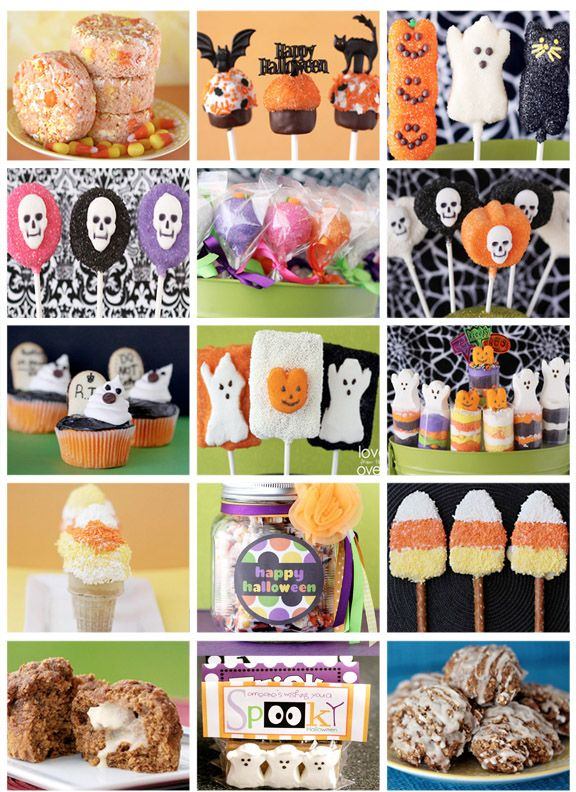 Lots of great Halloween treats, recipes and ideas that are quick and easy!