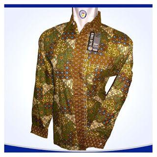 Kemeja batik untuk pria