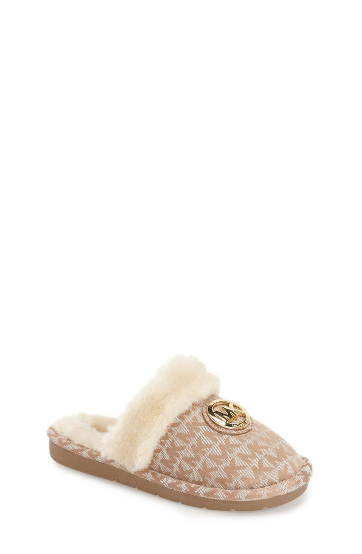 http://www.newtrendsclothing.com/category/michael-kors/ MICHAEL Michael Kors 'Grace Tana' Slipper