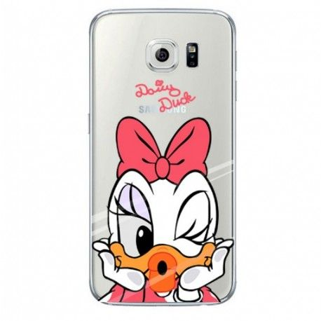 Coque Daisy Duck transparente Samsung Galaxy S7