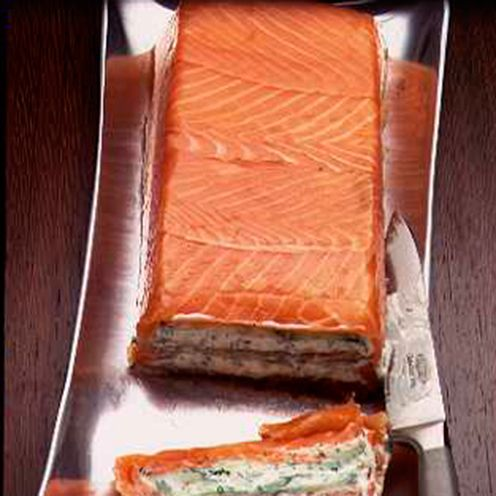 This triple-tested smoked salmon and boursin terrine is easy to assemble and looks impressive.