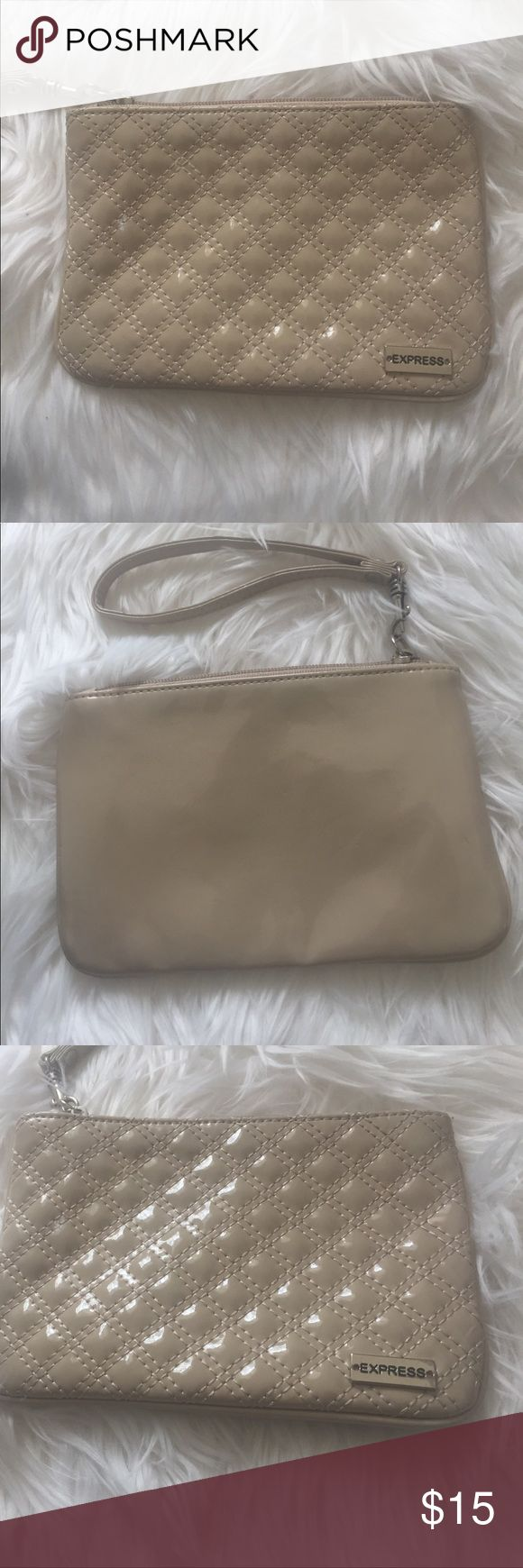 Women's wristlet Only used a few times. Express Bags Clutches & Wristlets