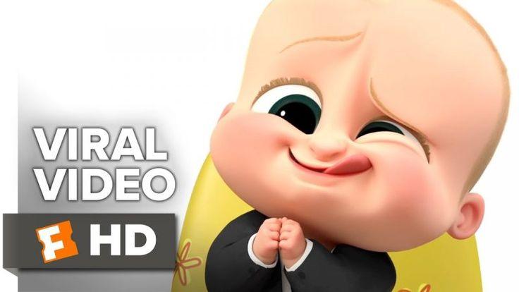 The Boss Baby VIRAL VIDEO – Boss Baby Talks Cute Face (2017) – Alec Baldwin Movie