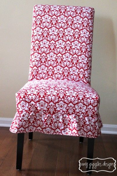 Cute Pier One Parsons Chair Damask Cover