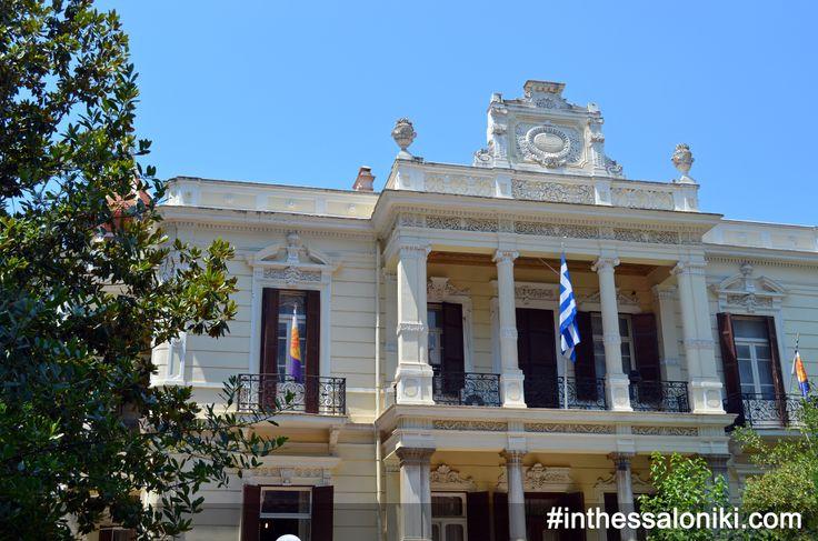Βίλλα Μορντώχ - Villa Mordoch One of the most characteristic samples of eclecticism available in Thessaloniki! --- Η βίλα Μορντώχ επί της Βασιλίσσης Όλγας είναι ένα απο τα χαρακτηριστικότερα δείγματα του Εκλεκτικισμού που υπάρχουν στην Θεσσαλονίκη.  #thessaloniki #vasilissis #olgas #mordoch #architecture #travel #greece #eclecticism