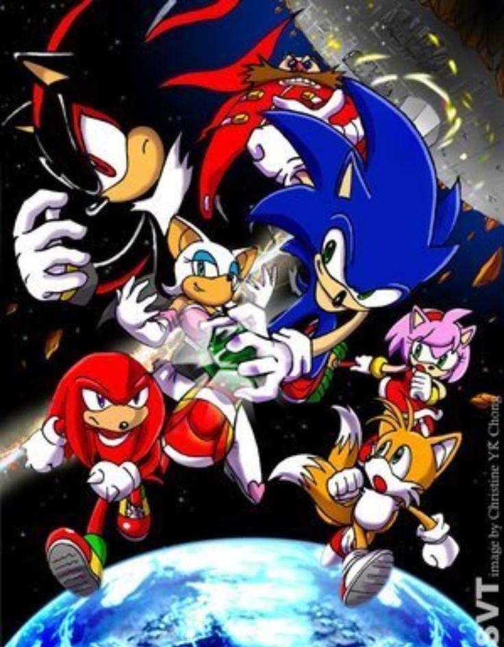 Sonic Adventure 2 Battle ! My favorite sonic game !