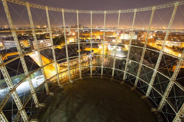Gasometers, Hornsey | London From The Rooftops #piclectica