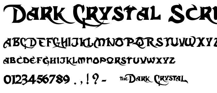 Gothic Script Fonts ...