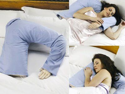 Husband/Boyfriend pillow for those who don't want to sleep alone