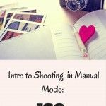 Photography 101 Shoot in Manual 101: ISO