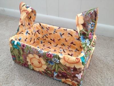 clementine crate to storage bin