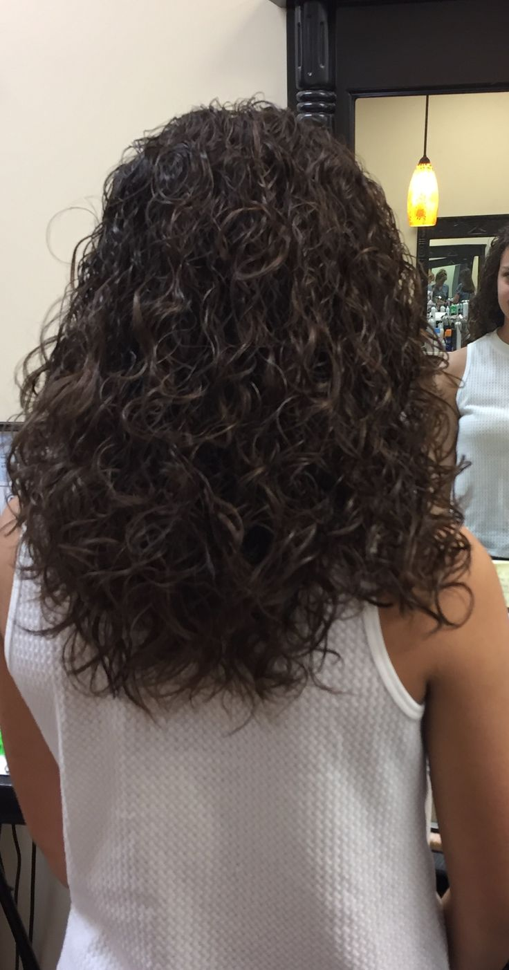 Spiral Perm With Med Rods 😊 Curled Hairstyles For Medium