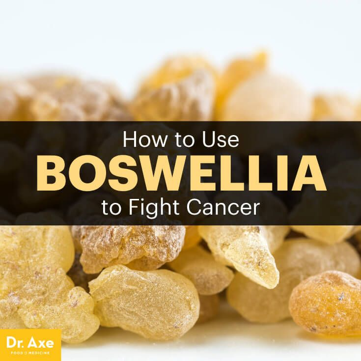 Because it turns off reactions of the immune system that drive up inflammation and swelling, boswellia is a natural treatment for cancer.