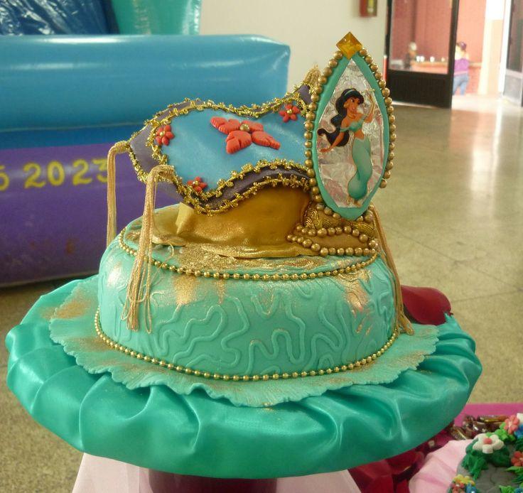 Pastel de la princesa Jazmin.