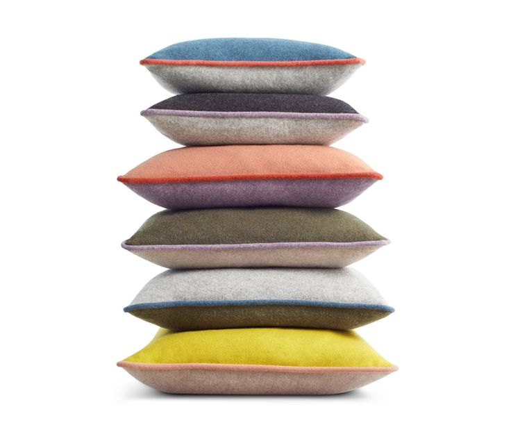 Blu Dot's playful use of colour comes to the fore in their Duck Duck throw pillows | designlinesmagazine.com