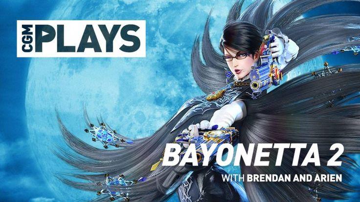 CGM sits down to play the crazy Wii U title, Bayonetta 2. #bayonetta2 #nintendo #wiiu