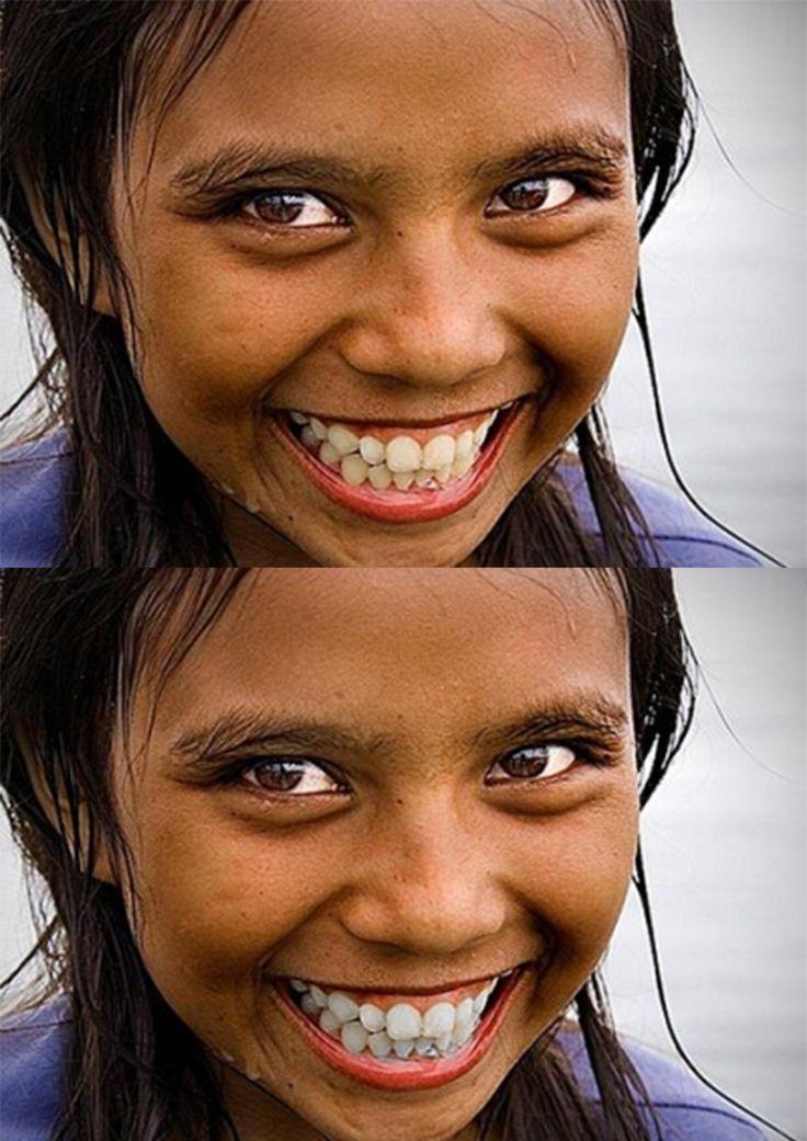 ipanayla sağlıklı gülüşler :)