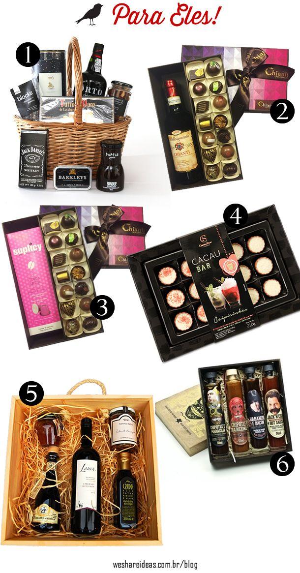 4a864a1ba8b3df Sugestões de Presentes para Dia dos Namorados! | Client Gift Ideas ...