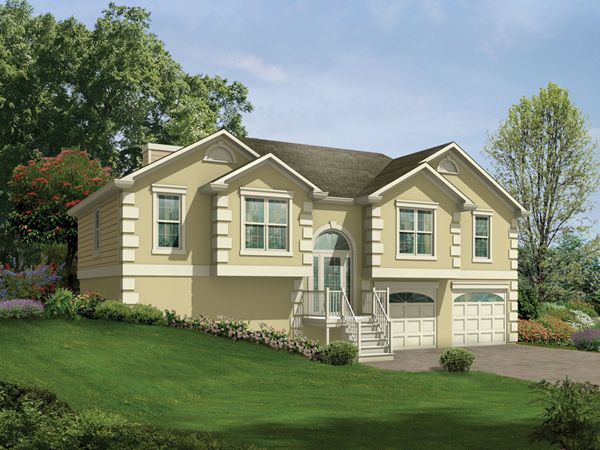 117 best images about house painting ideas on pinterest for Bi level house
