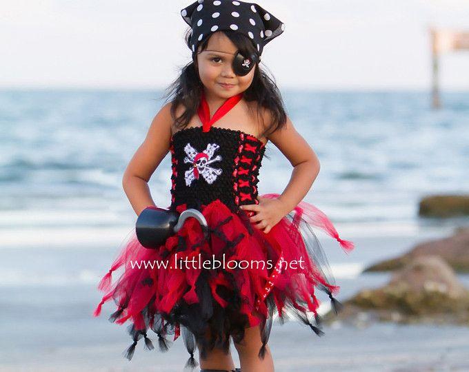 Tutu de crucero traje del pirata pirata pirata cumpleaños